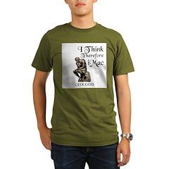 The Geek God's Organic Men's T-Shirt (dark)
