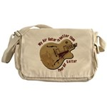 The Air Guitar Messenger Bag