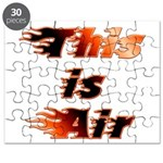 The On Fire Air Guitar Puzzle