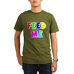 The Feed Me Organic Men's T-Shirt (dark)