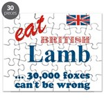 Slam in the Lamb Puzzle