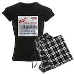 The Bunny Women's Dark Pajamas
