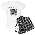 Dog-Gone Foxy Women's Light Pajamas