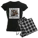 Dog-Gone Foxy Women's Dark Pajamas