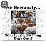 Dog-Gone Foxy Puzzle