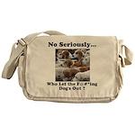 Dog-Gone Foxy Messenger Bag