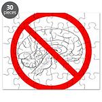 The No Brain Puzzle