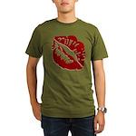 Kiss My Organic Men's T-Shirt (dark)