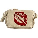 Kiss My Messenger Bag