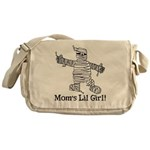 The Mummy's Girl Messenger Bag