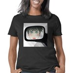 Obey The Teacher with this Organic Women's Fitted