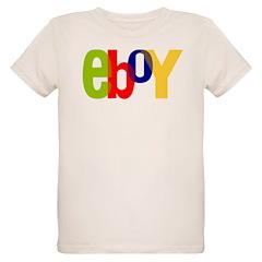 e boy's Organic Kids T-Shirt