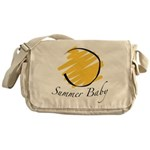 The Summer Baby Messenger Bag