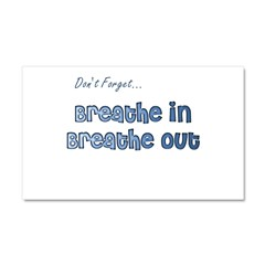 Don't Forget With This Car Magnet 20 x 12