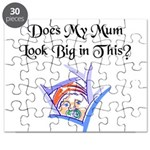 Does my Mum look Big in this Puzzle
