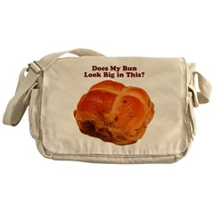The Big Bun in the Oven Messenger Bag