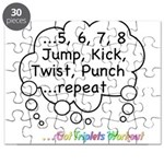 Triplets Workout Under This Puzzle