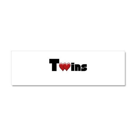 The Twins Car Magnet 10 x 3