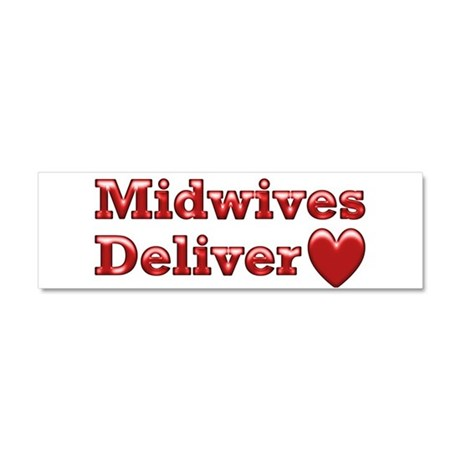 Delivering Love With This Car Magnet 10 x 3