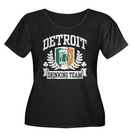 Detroit Irish Drinking Team Women's Plus Size Scoo