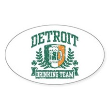 Detroit Irish Drinking Team Decal