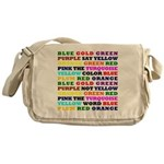 The Color Conundrum Messenger Bag