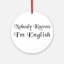The English Ornament (Round)