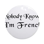 The French Ornament (Round)