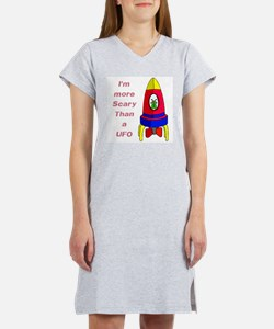 The Scarier Than a UFO Women's Nightshirt