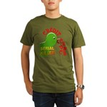 The Credit Crunch Organic Men's T-Shirt (dark)