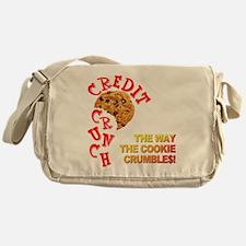 The Crunchy Credit Messenger Bag
