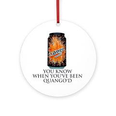Quango'd? Then get the Ornament (Round)