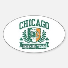 Chicago Irish Drinking Team Decal