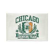Chicago Irish Drinking Team Rectangle Magnet