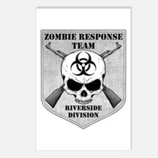 Zombie Response Team: Riverside Division Postcards