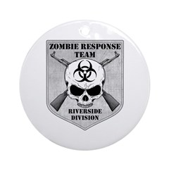 Zombie Response Team: Riverside Division Ornament
