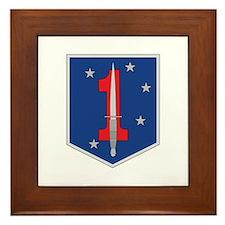 1st Marine Special Operations Battalion Framed Til