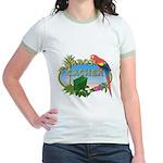 Parrot Cacher  Jr. Ringer T-Shirt