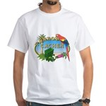 Parrot Cacher White T-Shirt