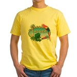 Parrot Cacher  Yellow T-Shirt