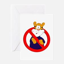 Anti-Tigers Greeting Card