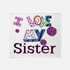 Unique Sister Throw Blanket