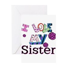 Cool My sister Greeting Card