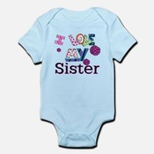 Cute I love my sister Infant Bodysuit