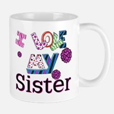 Unique I love my sister Mug
