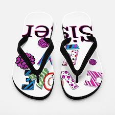 Cute Sister Flip Flops
