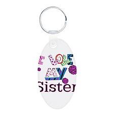 Unique Sister Keychains