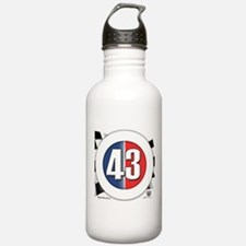 43 Cars Logo Water Bottle