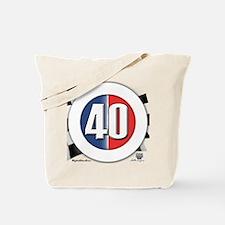 40 Cars logo Tote Bag