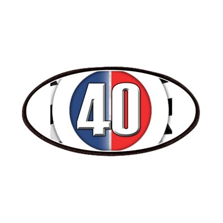 40 Cars logo Patches